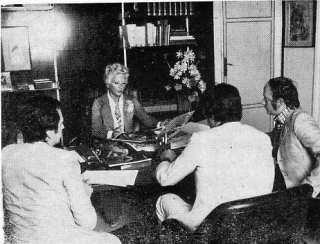 Nella foto,al centro, Adelina Tattilo